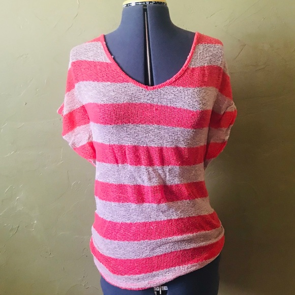 Annabelle Tops - Maternity Stripped Top